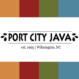 Cafe in NC Wilmington 28403 Port City Java 2512 Independence Blvd (910)792-0449