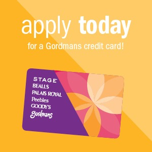 Gordmans credit card
